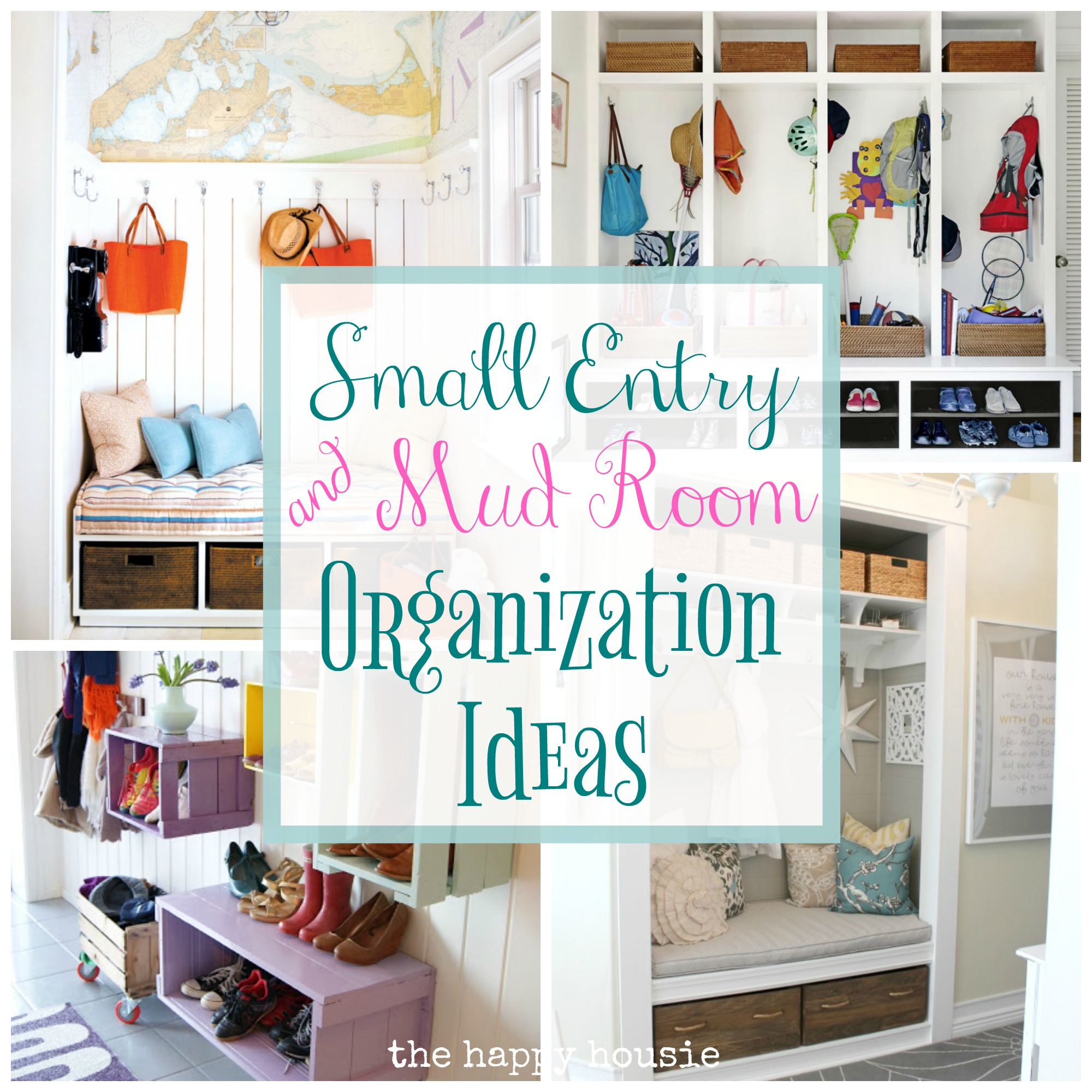 30 Organized Inspiring Small Mud Rooms & Entry Areas The Happy