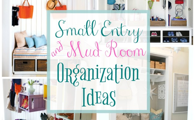 30 Organized Inspiring Small Mud Rooms Entry Areas
