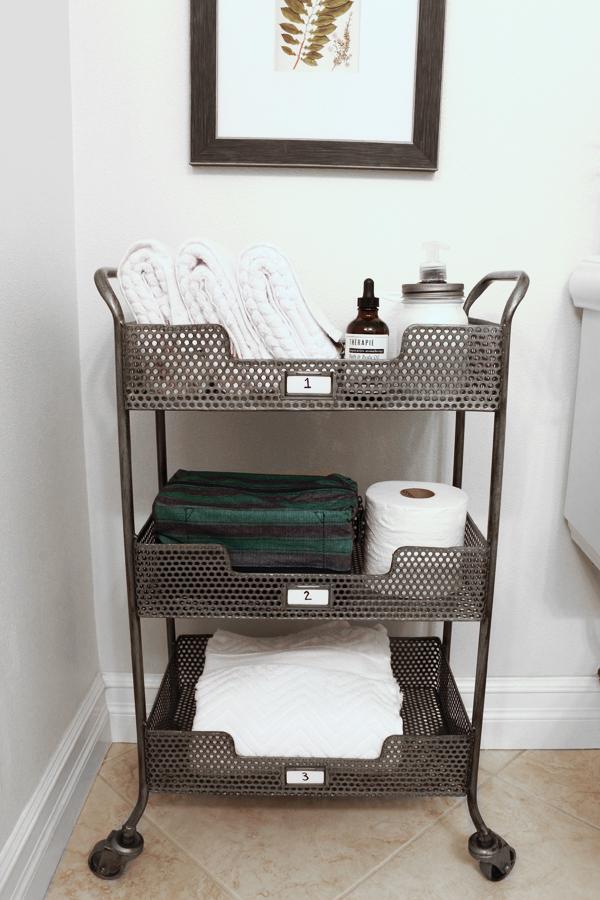 Ingenious Ideas  DIYs for Bathroom Organization  Storage