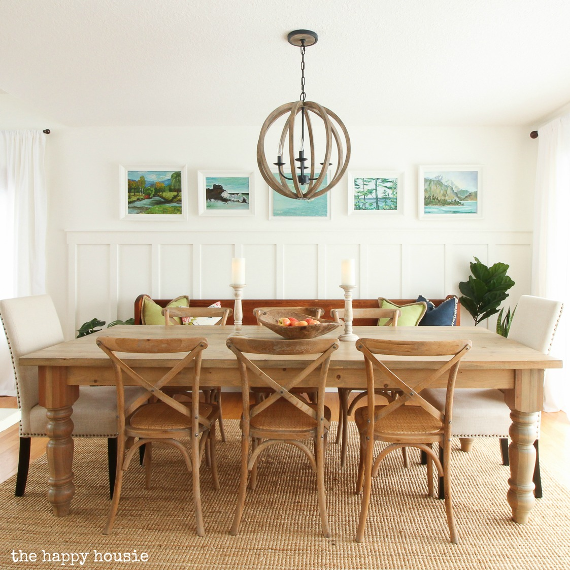Painting Simply White in the Dining Room  Kitchen  The
