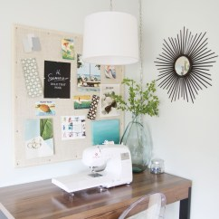 Ideas For Craft Room Chairs Do It Yourself Patio Chair Cushions Creative Thrifty Small Space Organization The Diy Inspiration Board Via Life On Virginia Street