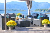 Lake House Dock Tour With Fab Outdoor Furniture