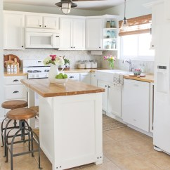 Farmhouse Kitchen Cabinets Industrial Cleaning Services 10 Fab Makeovers The Happy Housie