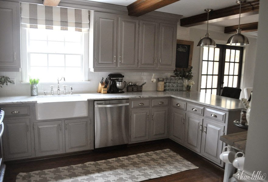 farmhouse kitchen cabinets hanging rack 10 fab makeovers the happy housie
