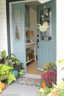 Easy & Vibrant Fall Front Porch Decor Happy Housie