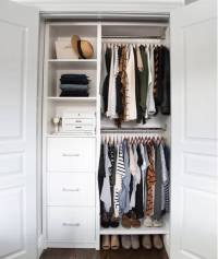 Small Reach-in Closet Organization Ideas | The Happy Housie