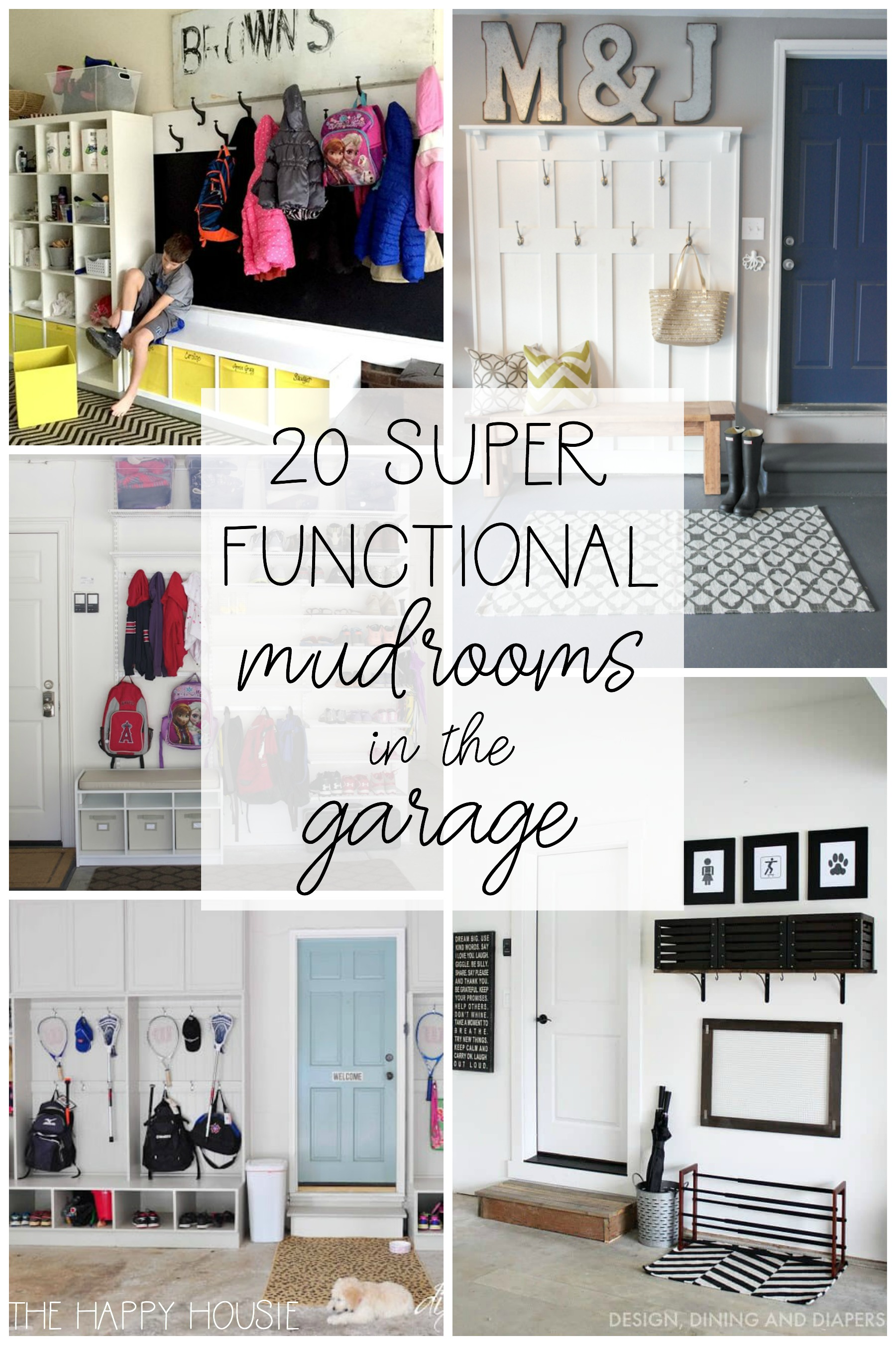 20 Super Functional Diy Garage Mudrooms The Happy Housie