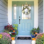 Simple Fall Front Porch Decor The Happy Housie