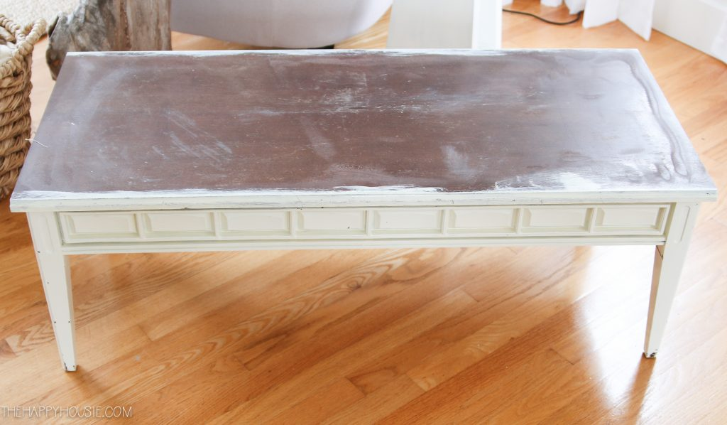 diy upholstered bench from an old