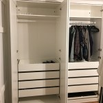 Diy An Organized Closet Big Or Small With The Ikea Pax Wardrobe System The Happy Housie