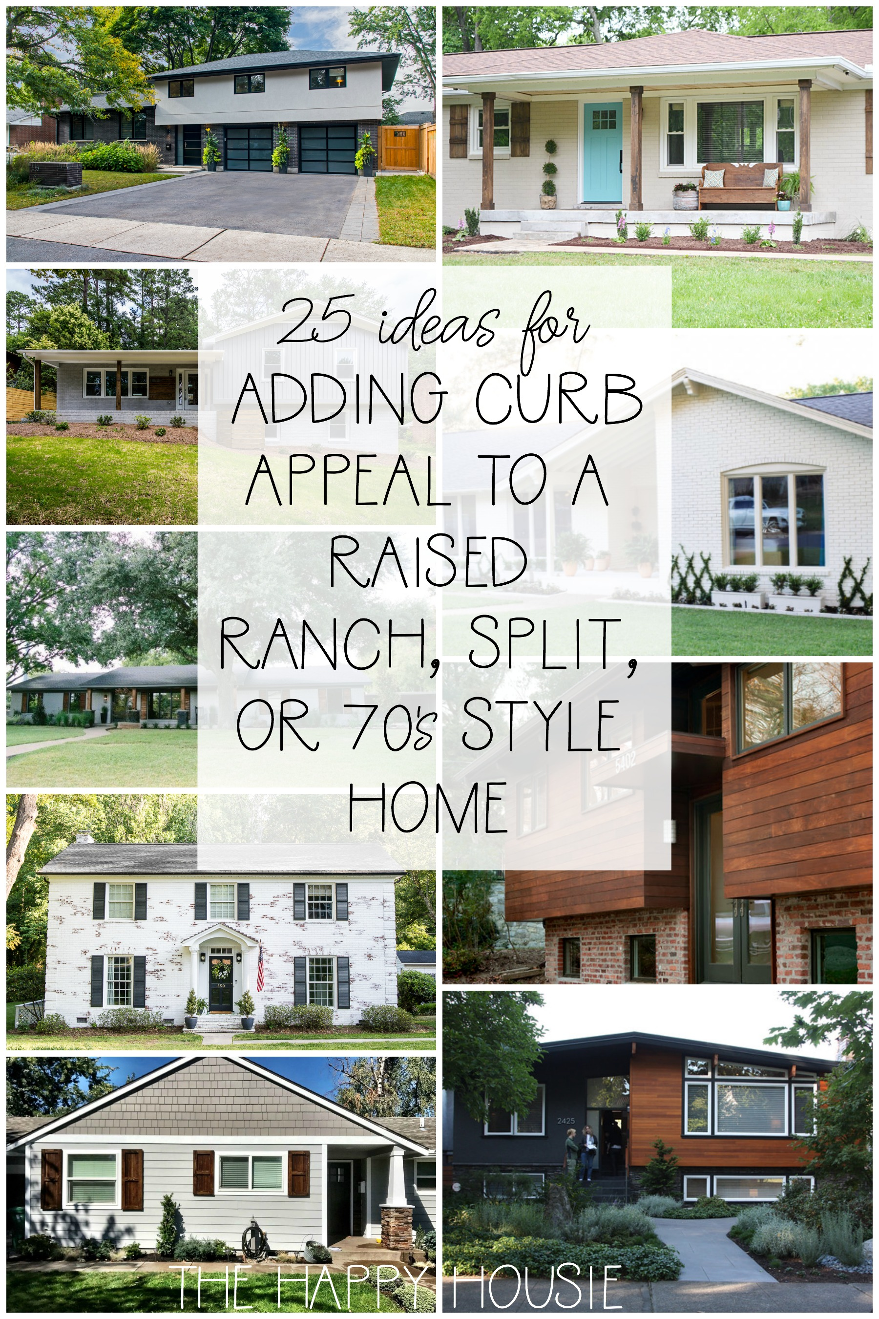 25 Ideas Tips For Adding Curb Appeal To Your Home The
