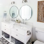 Fresh Modern Main Bathroom Renovation On A Big Box Store Budget The Happy Housie