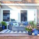 Simple Fall Porch Deck Decor Ideas The Happy Housie
