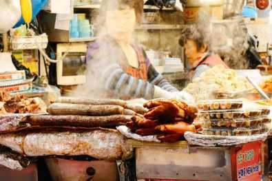 Streetfood Gwangjang Markt