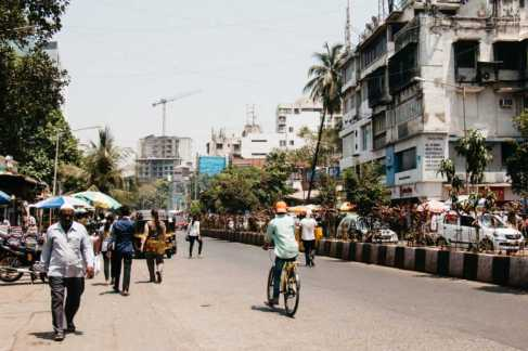 Elco Market Straße, Mumbai