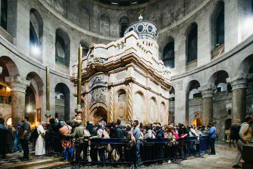 Heiliges Grab Jesu Grabeskirche