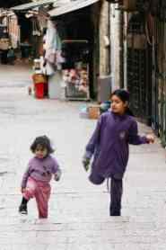 Kinder in der Altstadt von Jerusalem