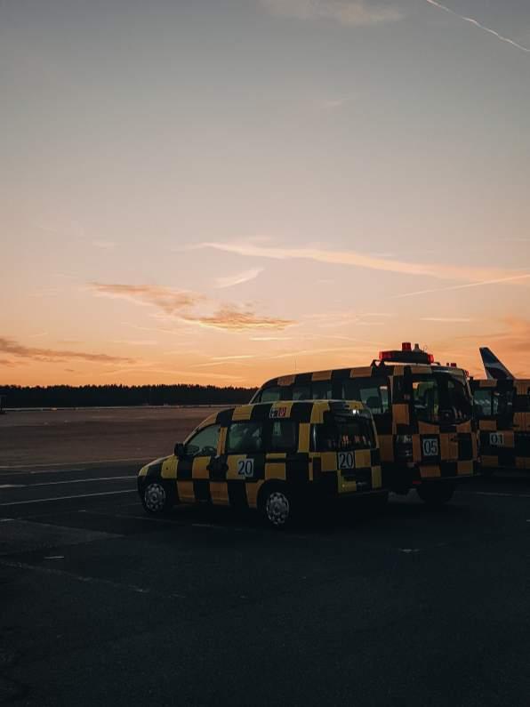 Flughafen Nuernberg Vorfeld