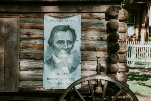 Springfield Illinois Abraham Lincoln Home Plakat