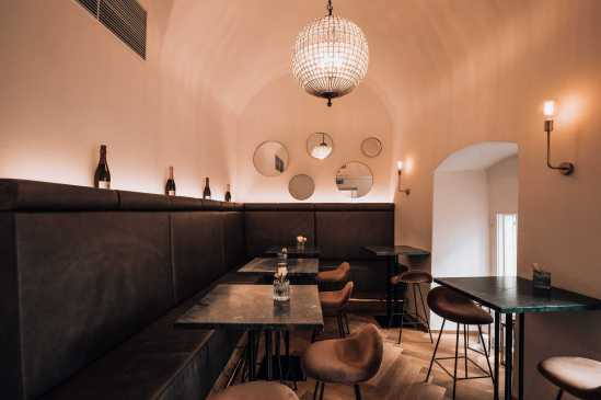 Café Herr Leopold interior design