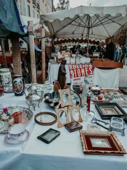 Aix-en-Provence-Flohmarkt1
