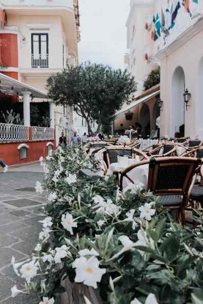 Capri Restaurant Terrasse