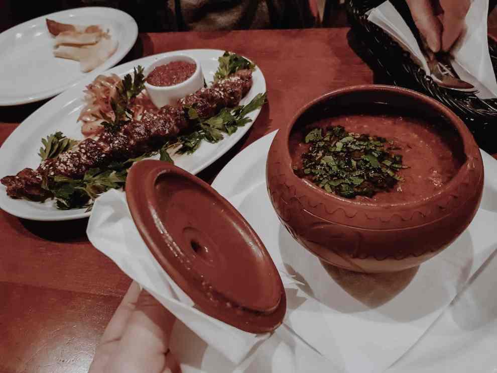 Georgisches Restaurant Essen