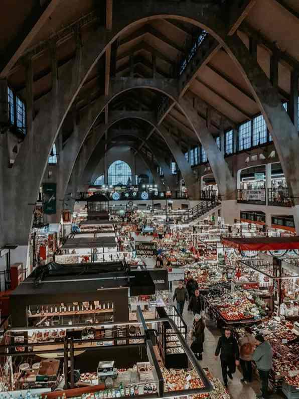 Markt in Breslau von innen
