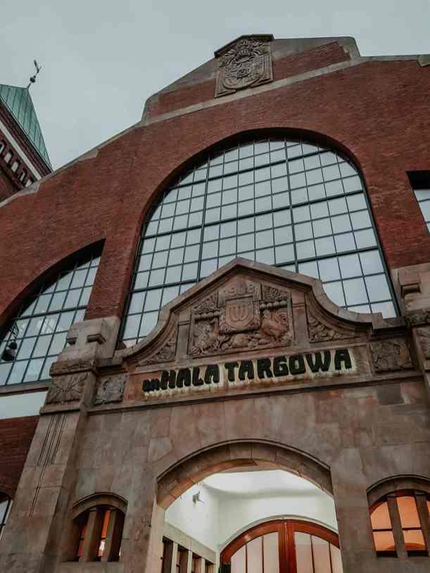 Markthalle in Breslau von außen