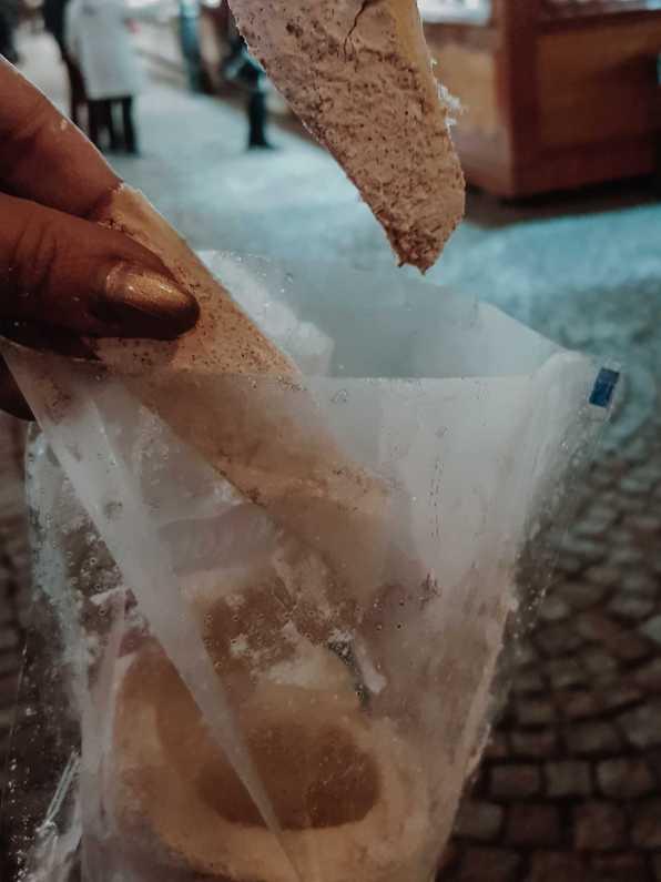 kürtöskalacs weihnachtsmarkt wroclaw