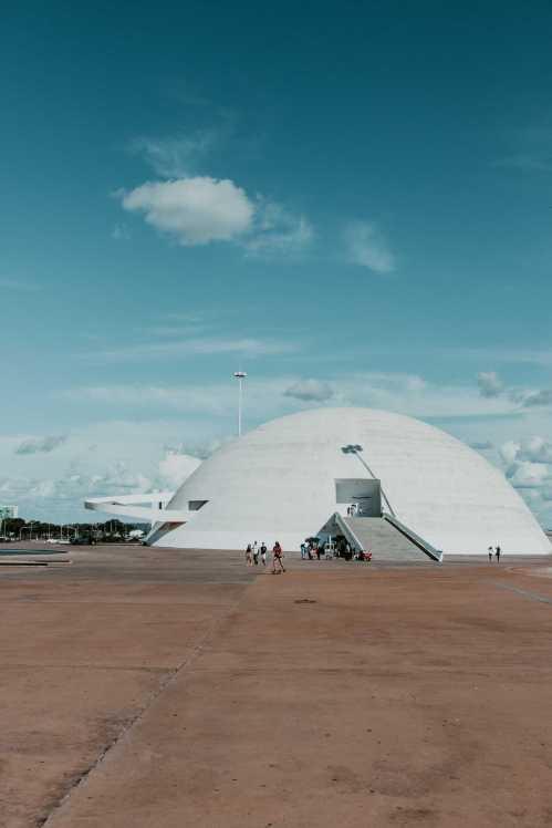 Museu Nacional in Brasilia