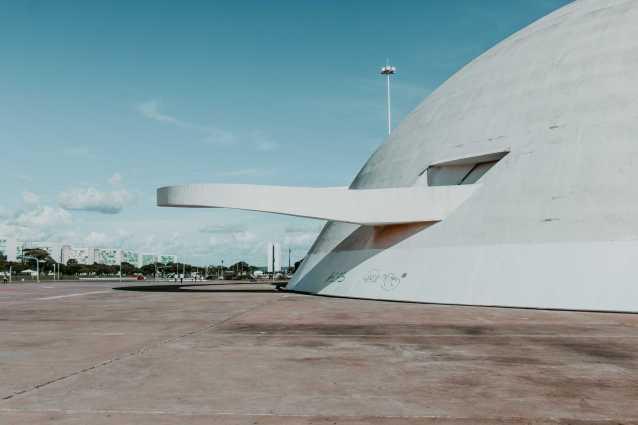 Museu Nacional in Brasilia Rampe