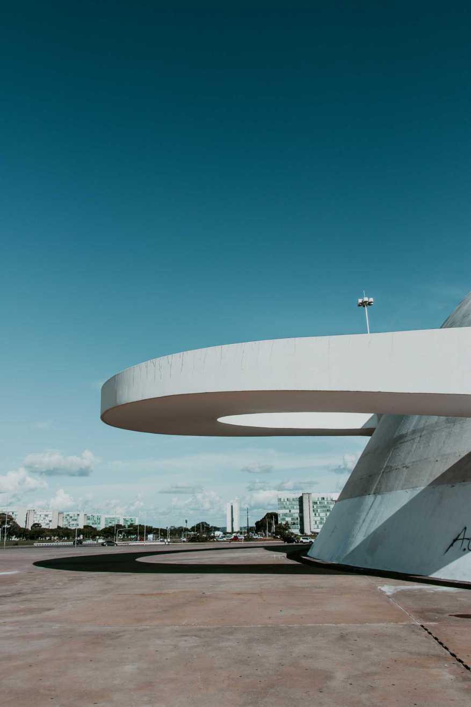 Museu Nacional in Brasilia Esplanada dos Ministerios