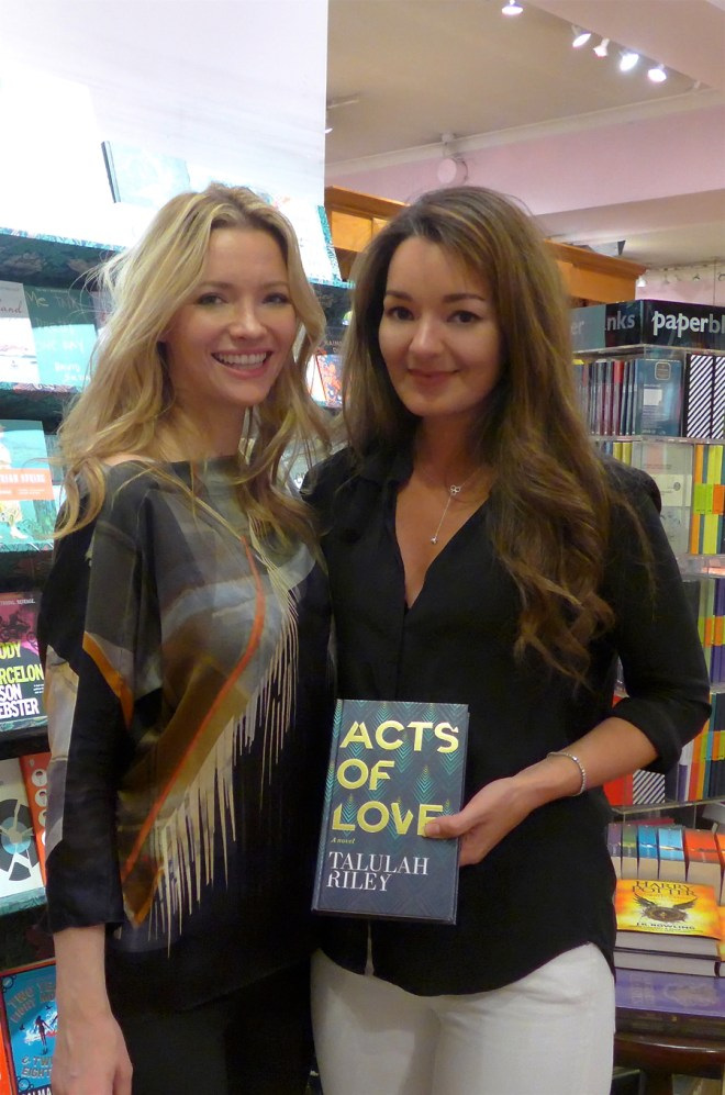 Talulah Riley Acts of Love in Daunt Books