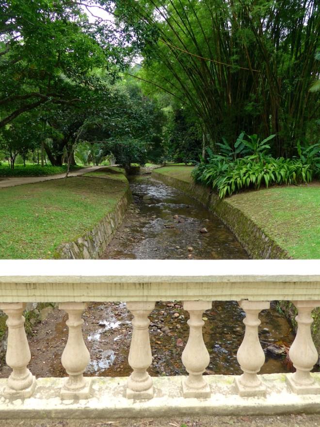 Botanical Garden Rio de Janeiro - Jardim Botanico do RIo de Janeiro - Stream