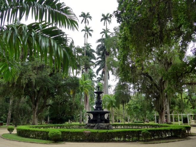 Botanical Garden Rio de Janeiro - Jardim Botanico do RIo de Janeiro - The Fountain of the Muses Rio