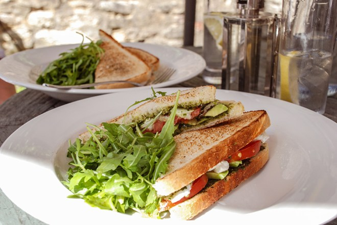 Cotswolds_The Little Italian Bistro Burford Sandwich