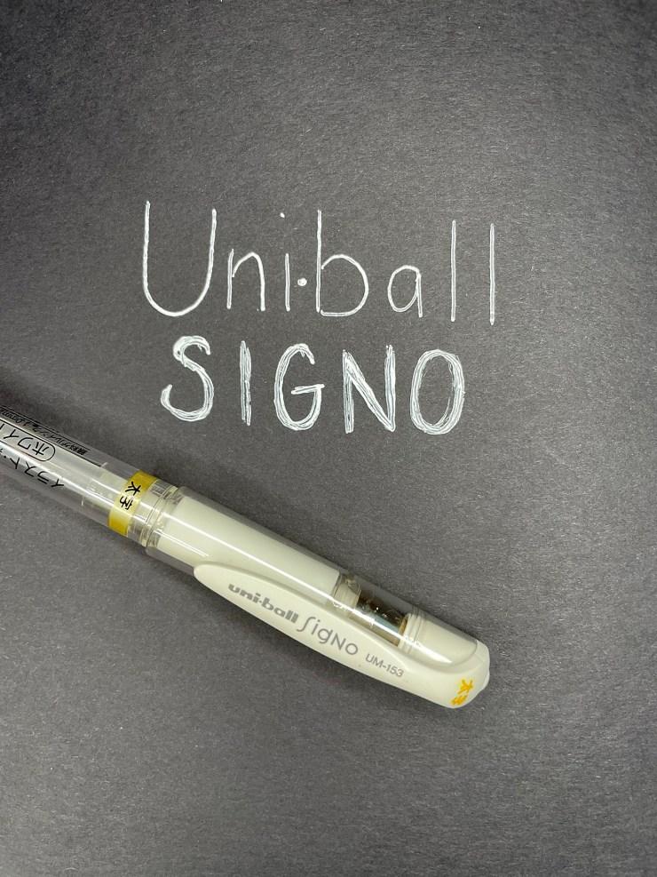 White Pen for Journaling