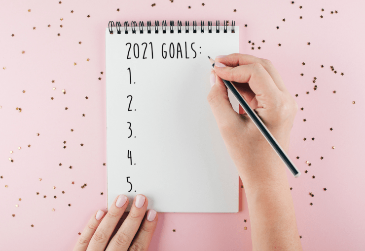 Goal setting in six weeks 2021