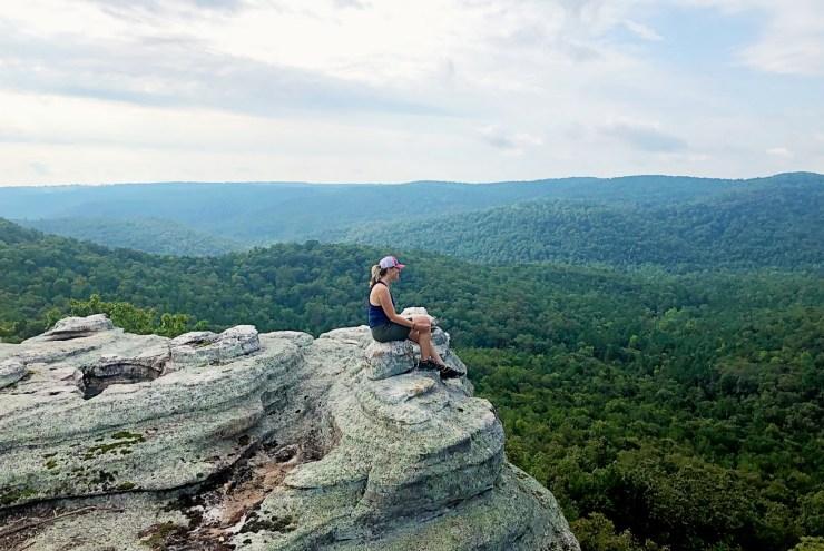 hiking arkansas in midlife