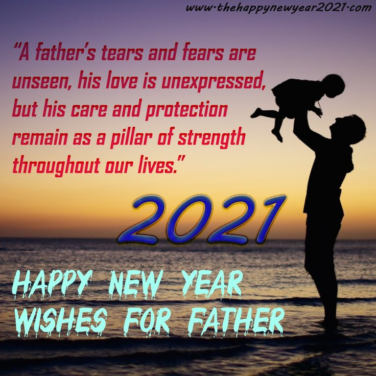 New Year Wishes for Father