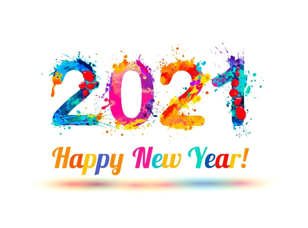 wallpapers happy new year 2021