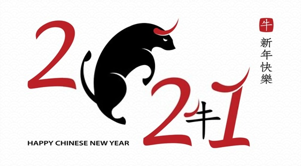year of the ox 2021 images wallpaper