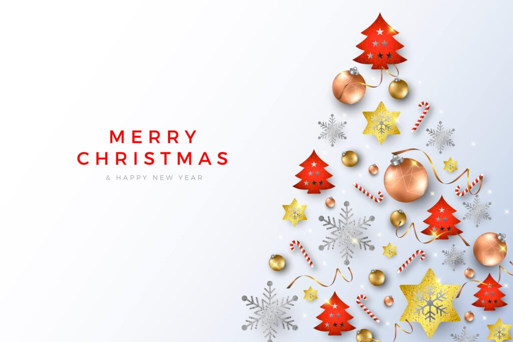 merry christmas 2020 and happy new year 2021 images wallpapers