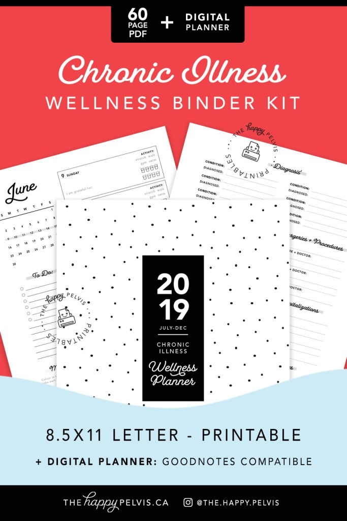 Chronic Illness Binder