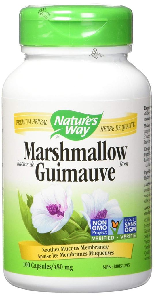 Marshmallow root for urinary tract infections