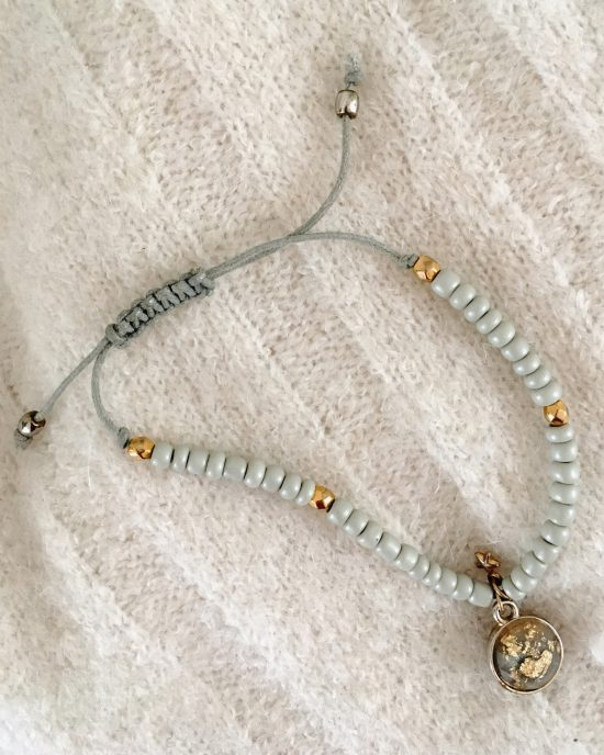 Notes From The Heart bracelet - The World Is Your Oyster