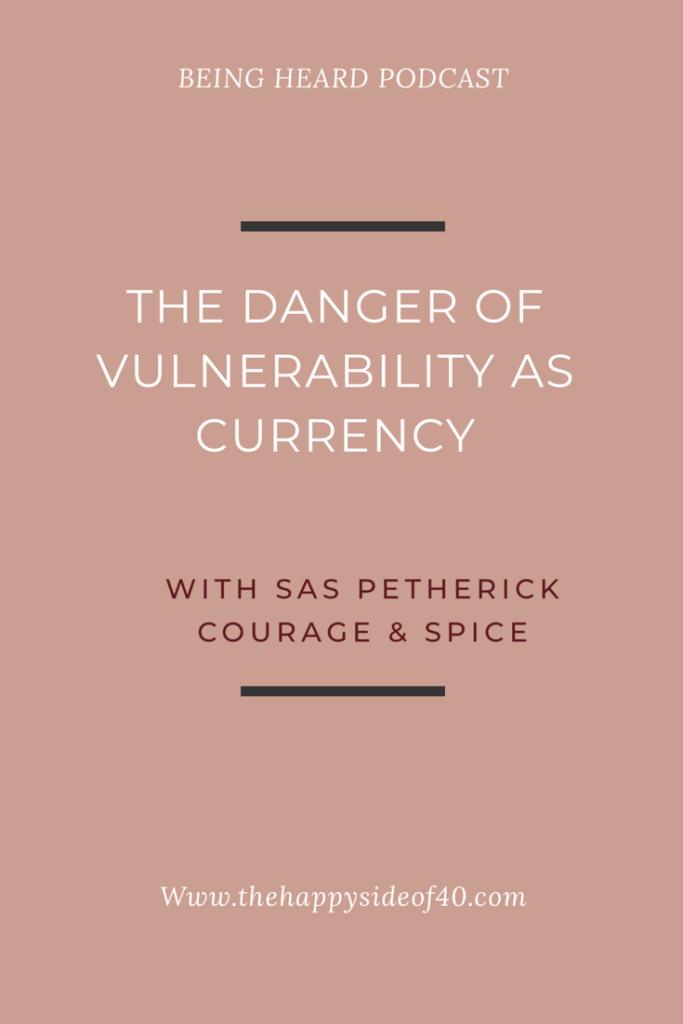 Being Heard Episode 9: Sas Petherick