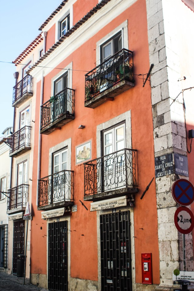 Building in Lisbon