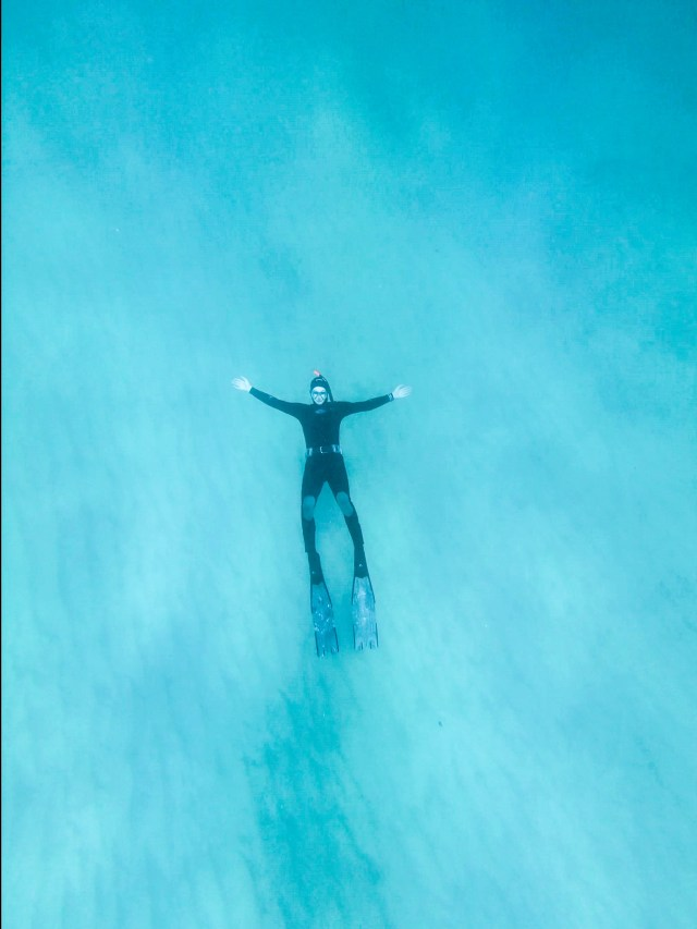 Sandy Cove freediving site in Cape Town